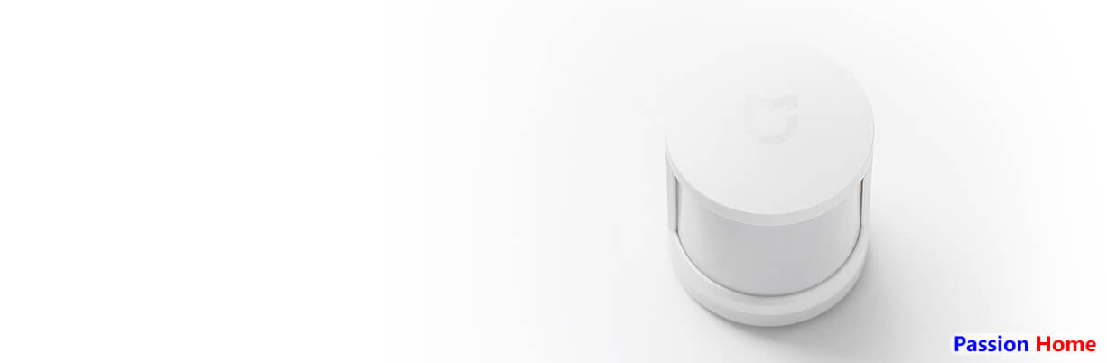 Portable, small size, easy to install. The Motion Detector Sensor is cylindrical in shape with the Mijia logo on the top. On the front, you will see the infrared sensor which detects movement and body heat.